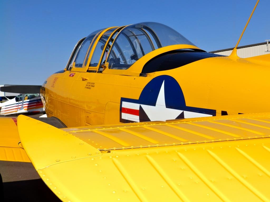 "T-34, Navy Plane, ""Toots"""
